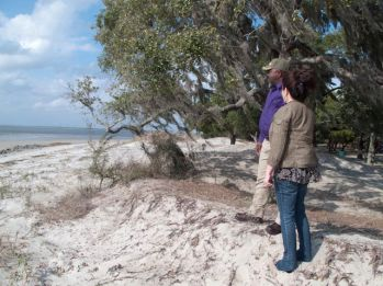 Shore of Jekyll Island with Fred Yango